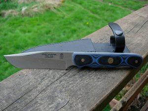couteau top spirit hunter lame acier