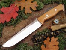 couteau de survie bark river bravo avec son etui