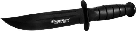 le couteau bowie smith wesson search and rescue
